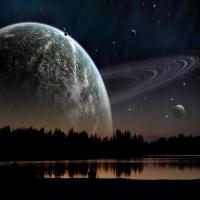 картинка про нереальных звезд, фантазии на счет Вечности