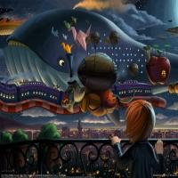 картинка стилизирована под fantazy по мотивам известных шедевров