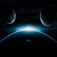обои о неизвестных гакактиках и зарождение красных гигантов, орбиты пл