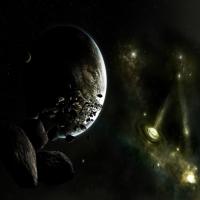 обои о нереальных планетах, фантазии на счет Вечности