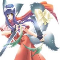 девочка с мечами