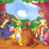 танец кенгуру и кролика