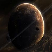 обои о нереальных планетах и возникновение красных гигантов, орбиты ко