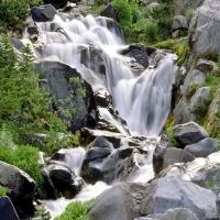 Paradise River, Mount Rainier National Park в Вашингтоне