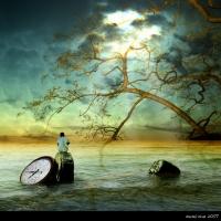 3d арт, красивая фото в стиле unreal, изображены ирреальные события