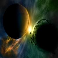 картинка про нереальных гакактиках и зарождение Сверхновых, орбиты пла
