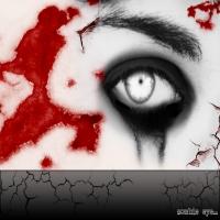кровь, язвы и белый зрачок