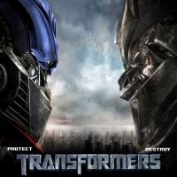 картинка из Transformers, трансформация автомобилей в боевых роботов