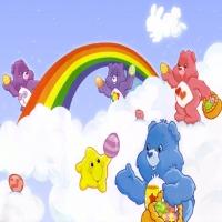 care bears на облаках