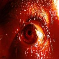 красный сваренные глаз
