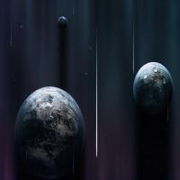 картинка о неизвестных планетах, тема космоса