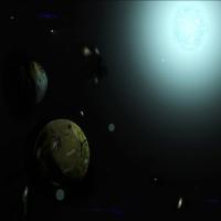 картинка о нереальных гакактиках, тема космоса