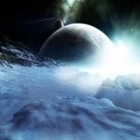 картинка про неизвестных звезд, фантазии на счет Вечности
