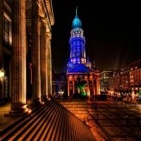 Капитолий ночью старая архитектура
