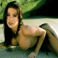Красивая женщина, грудь, стриптиз
