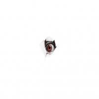 глаз в листе бумаги
