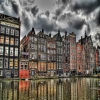 Голландская набережная фасады домов